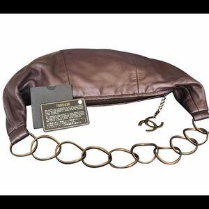 Chanel chain tote